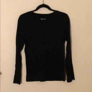 Back to Basic- black long sleeve T-shirt